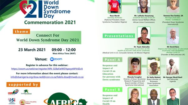 WATCH - Connect for World Down Syndrome Day in Africa
