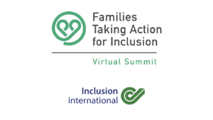 Families taking action for inclusion - Virtual summit