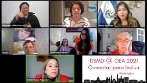 WATCH - Conectar para Incluir - DMSD @ OEA