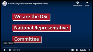Watch our National Representatives new video
